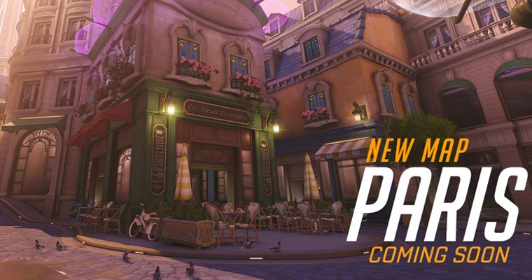 Blizzard's New Map - Paris