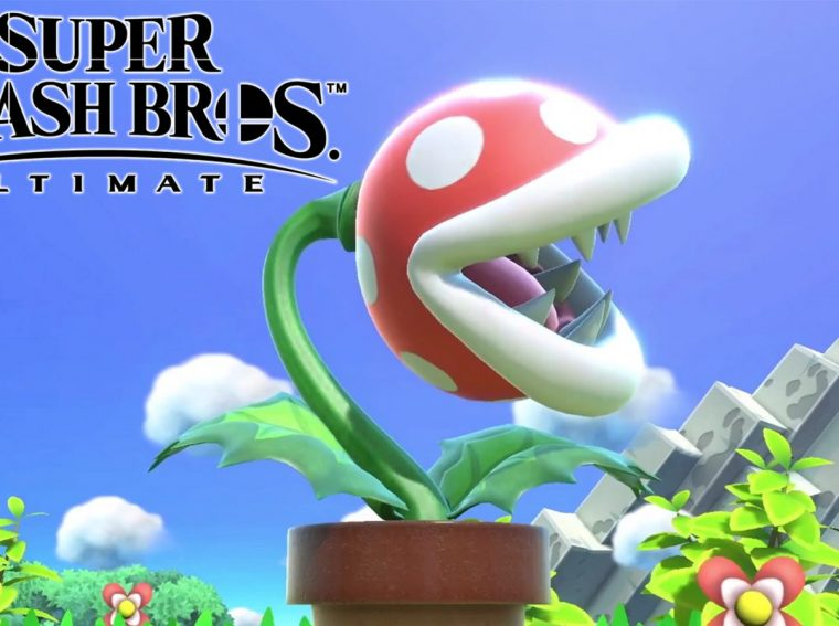 Latest Super Smash Bros Ultimate Patch Highlighted by Piranha Plant